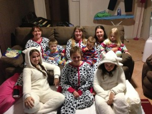 Who doesn't love a matching onesie!